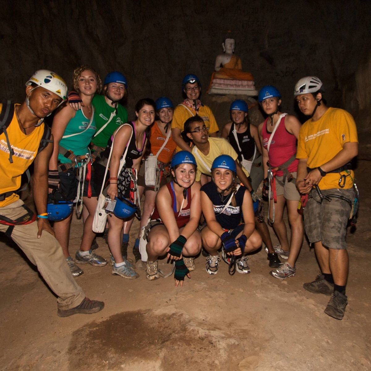 Add and Phi with a Group in a Cave 2009