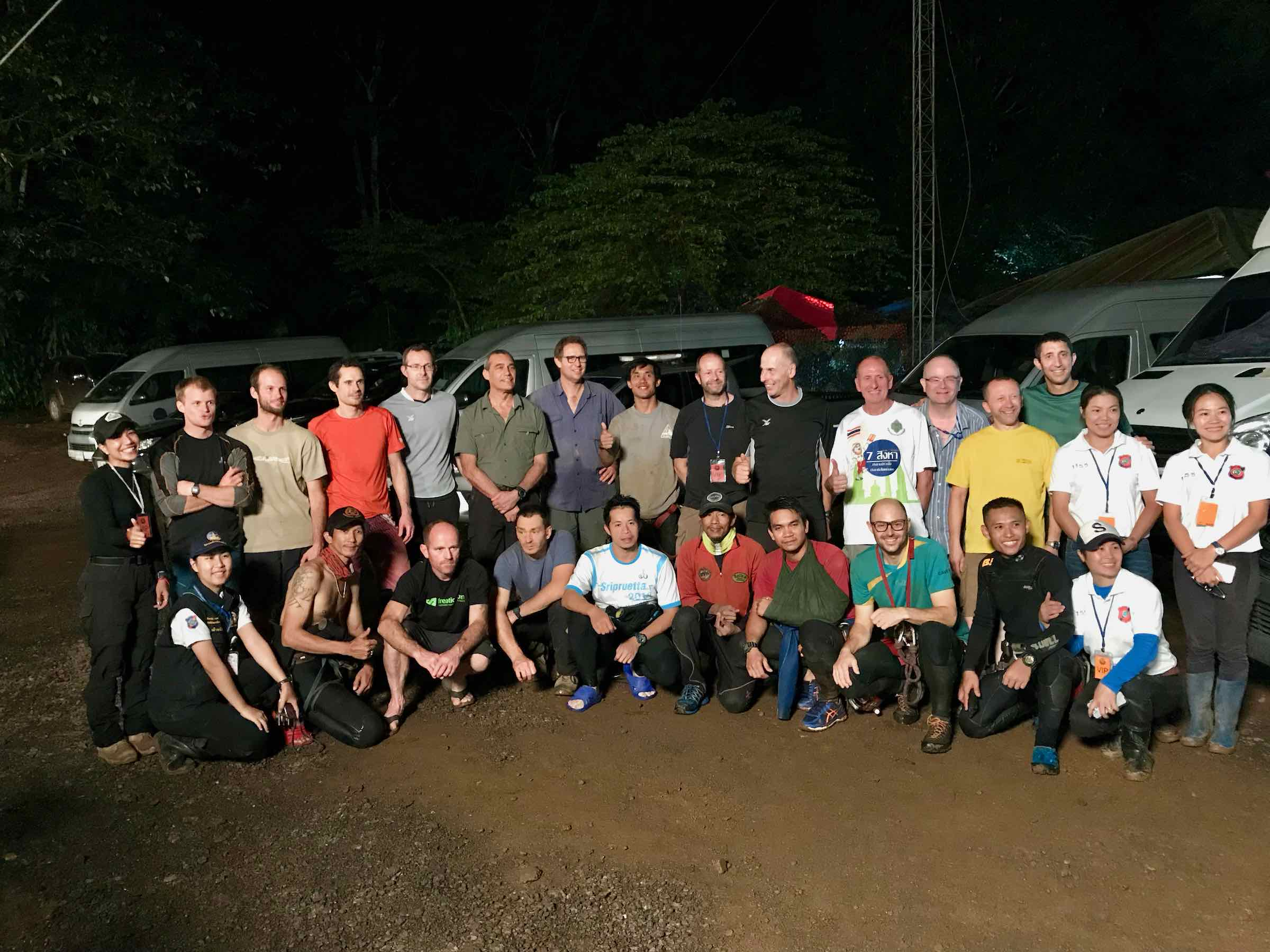 Tham Luang International Rescue Team