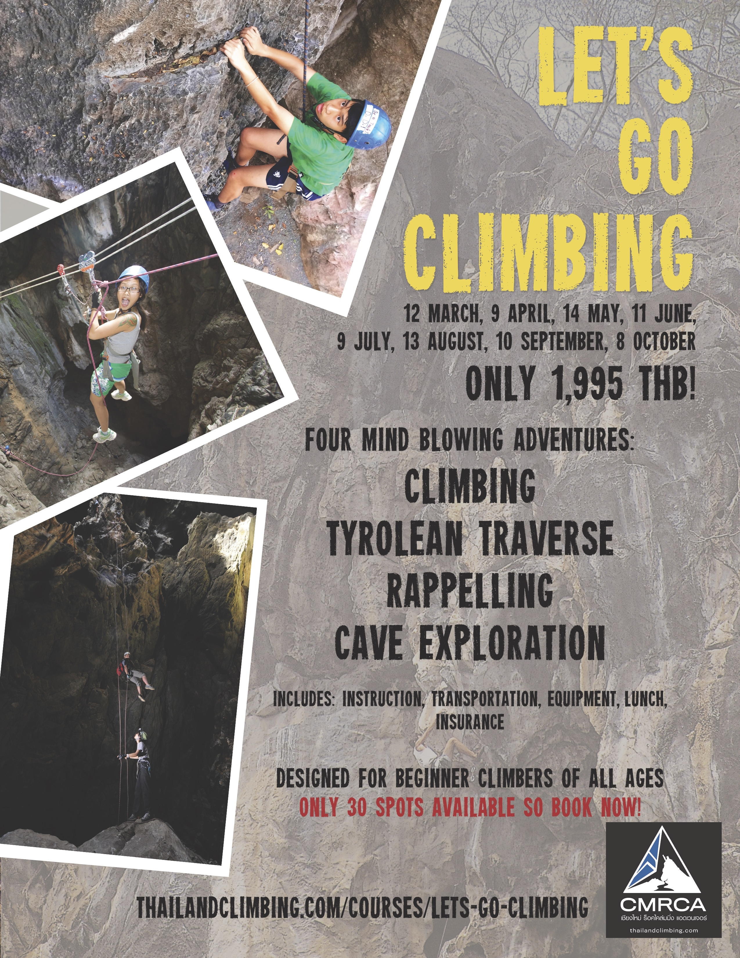 Let's Go Climbing Flyer - 02-2016 for Website