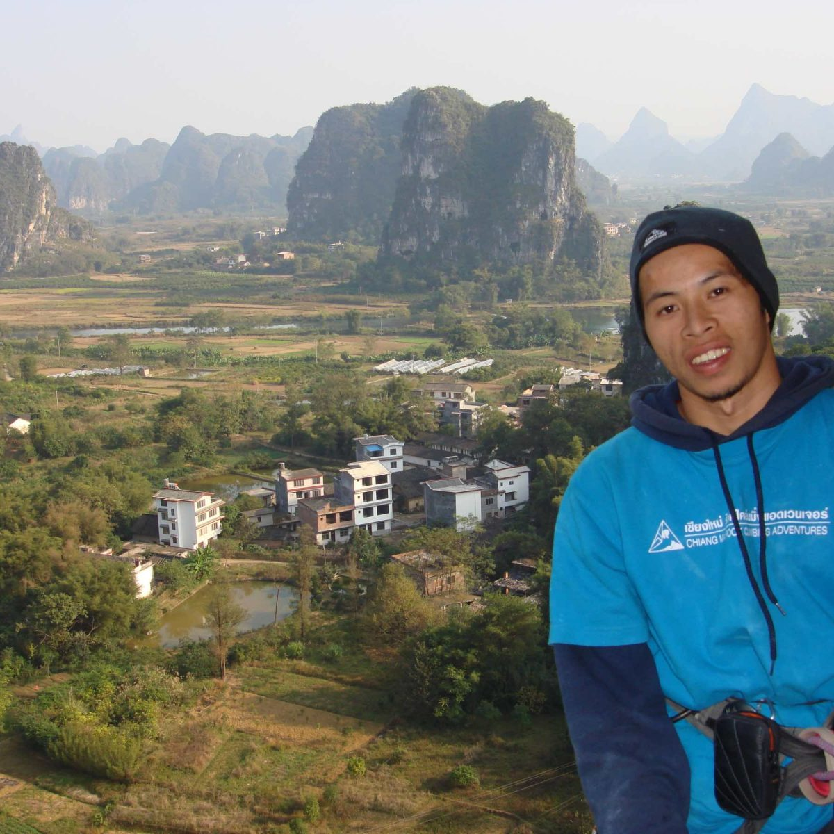 Taw in Yangshuo in Fall 2008
