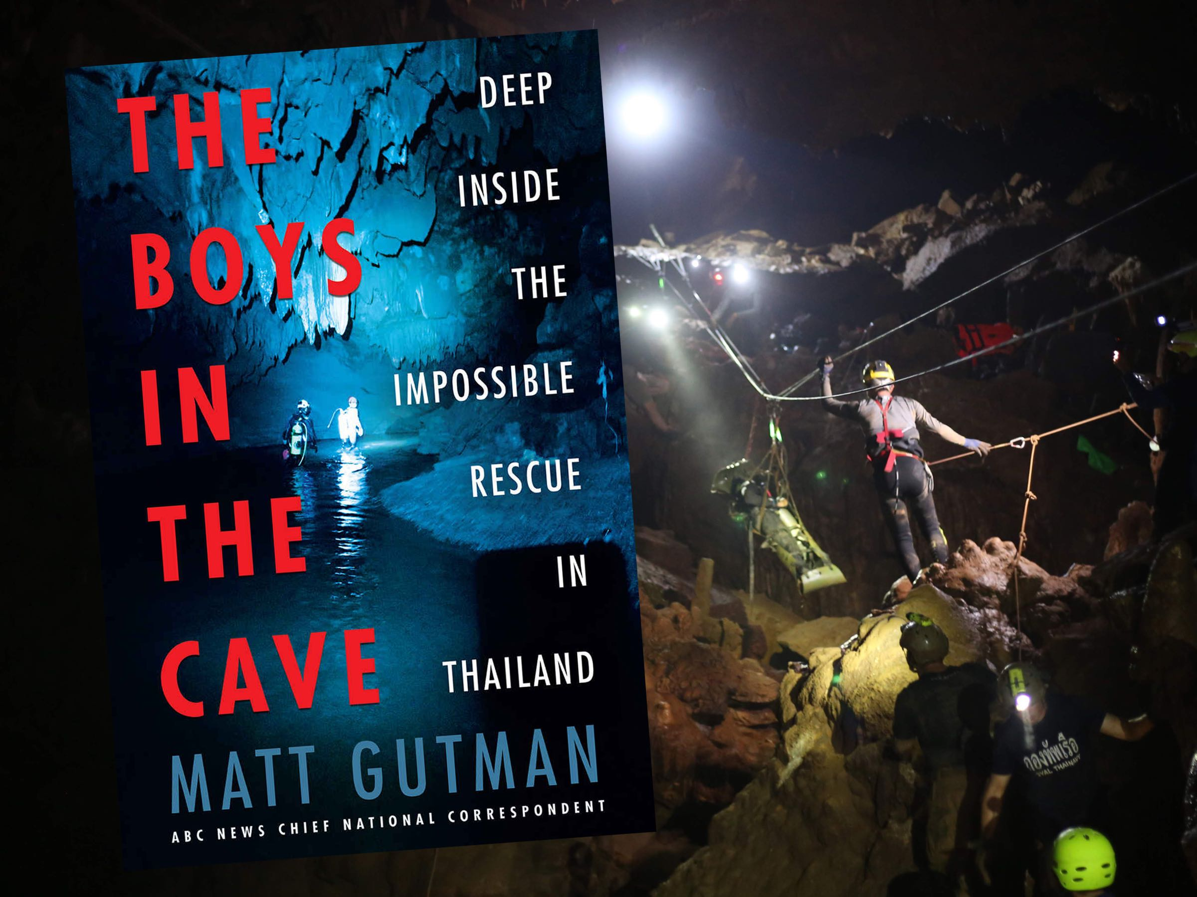 The Boys in the Cave Book Cover